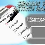 Checklist Ramadhan 1437H