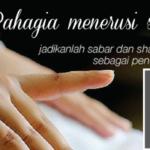 Tazkirah Ramadhan | Mencari Bahagia Menerusi Sabar
